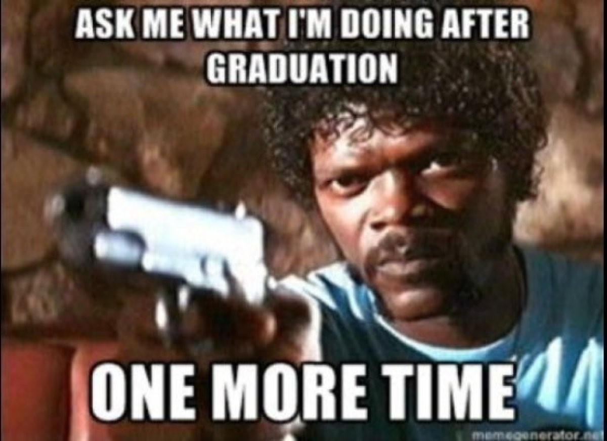 Meme: plans after graduation