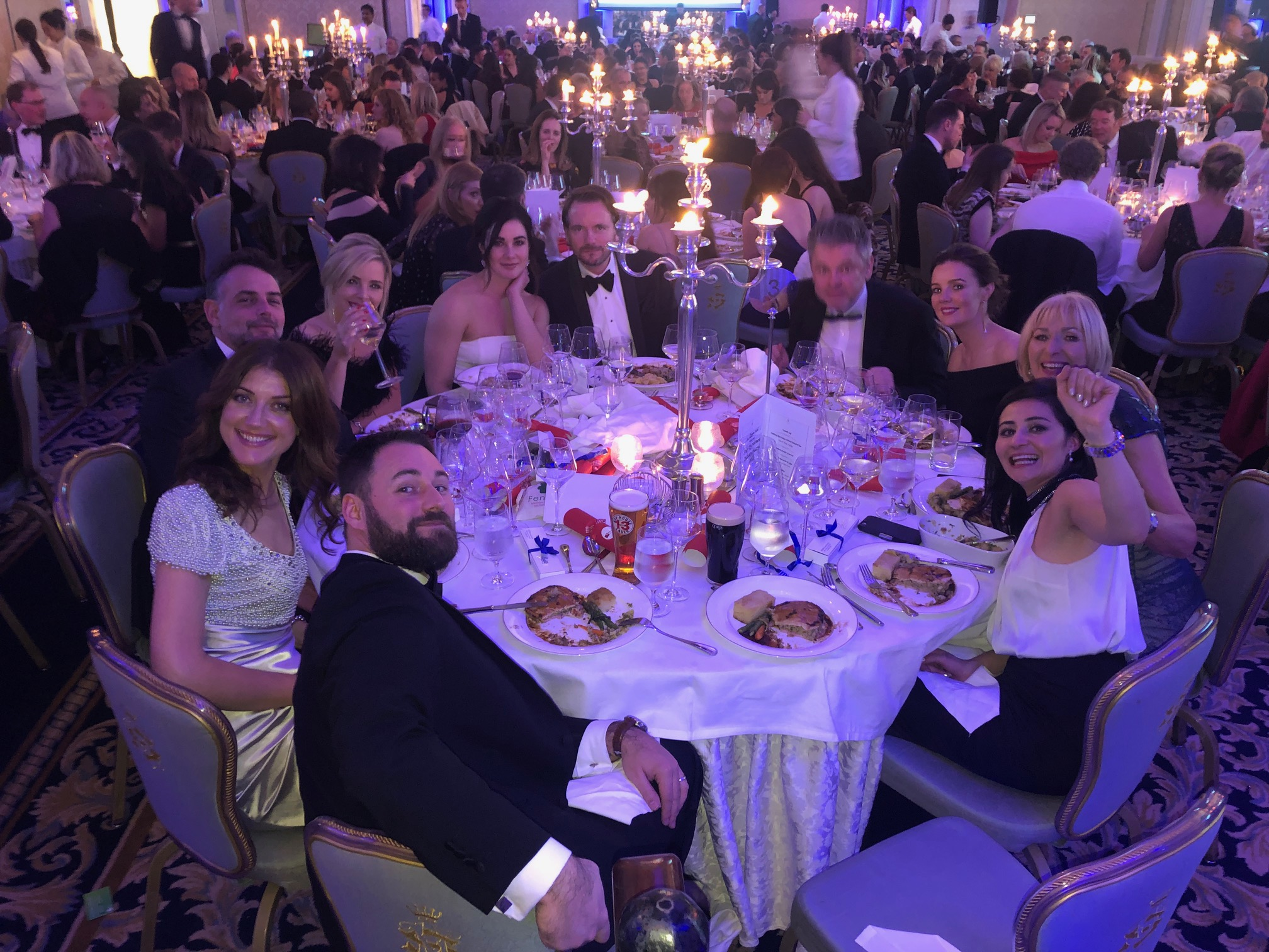 NRF Awards table