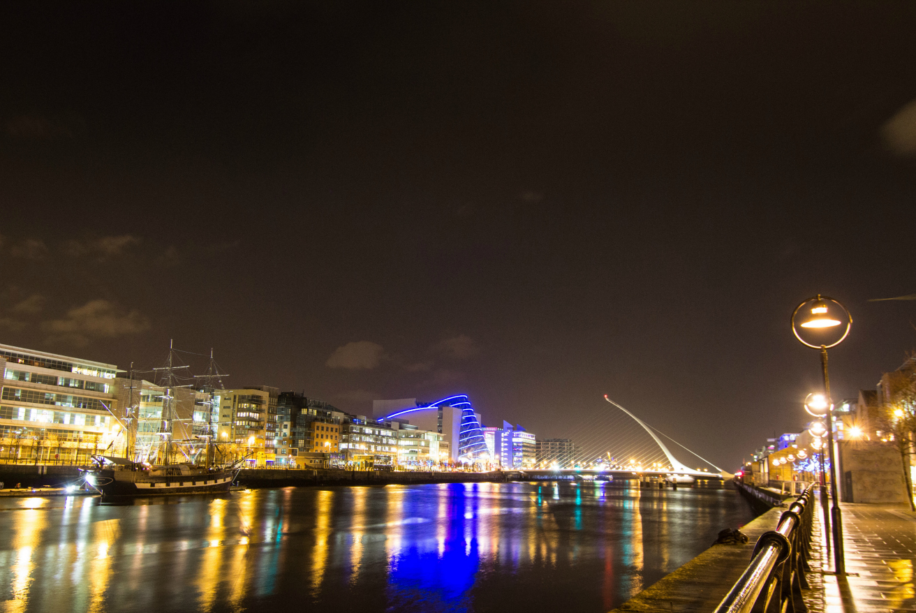 Recruiters - Dublin city at night