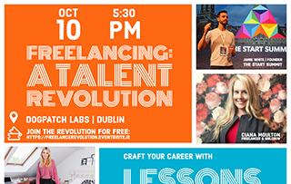 """Upcoming event - """"Freelancing: A Talent Revolution"""""""
