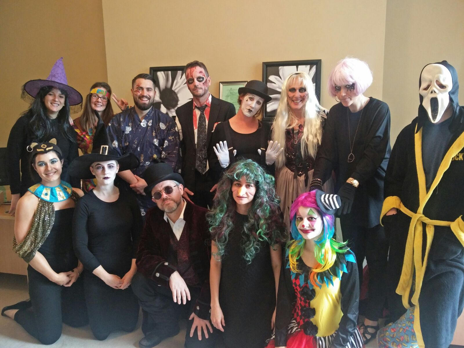 Recruiter's Halloween party
